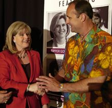 dan barnes and tipper gore